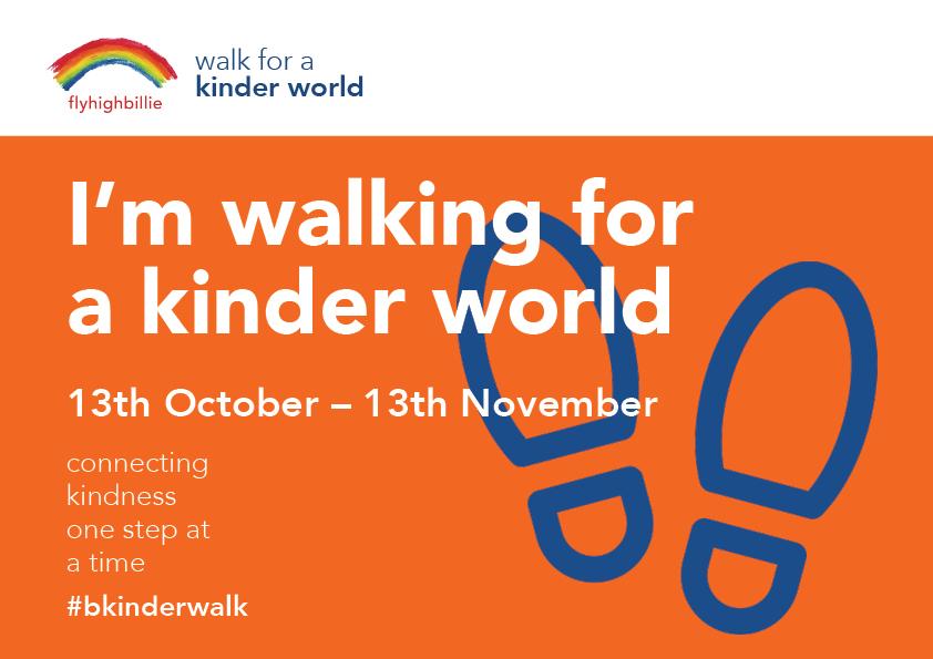 walk for kindness orange bib